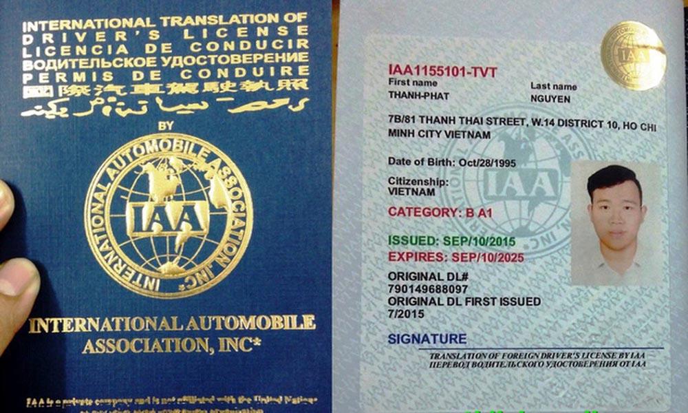 Ai nên đổi bằng lái xe IAA