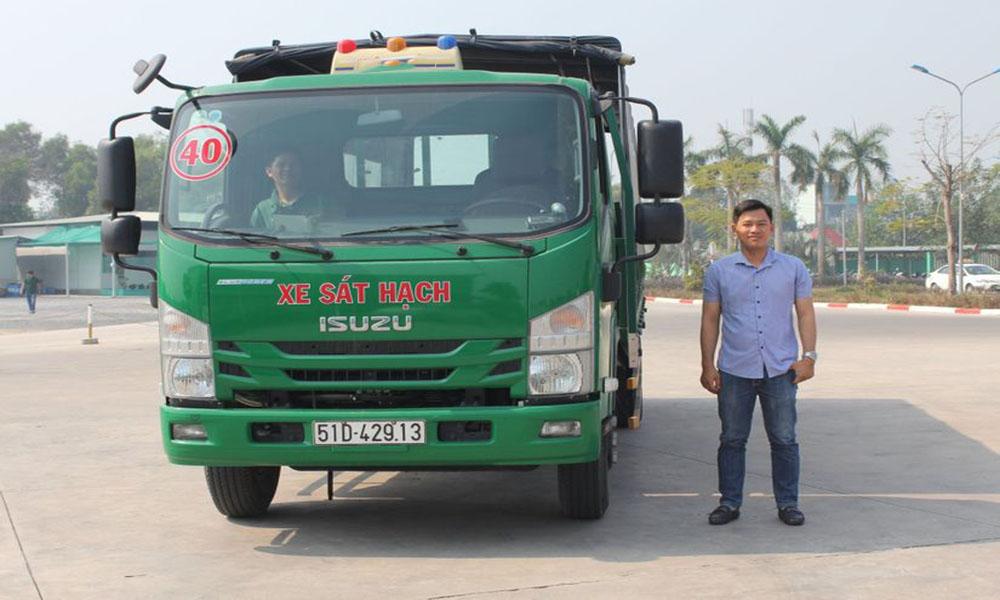 Bầng hạng C được lái xe tải
