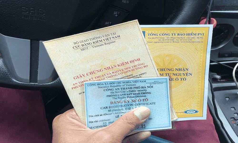 Hồ sơ đăng kiểm xe ô tô
