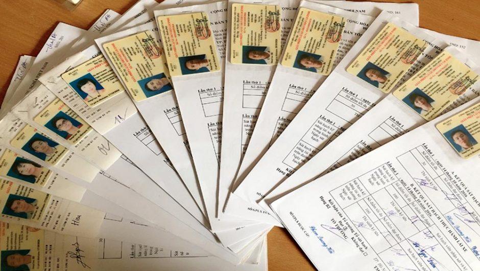 Hồ sơ đăng ký thi bằng A1