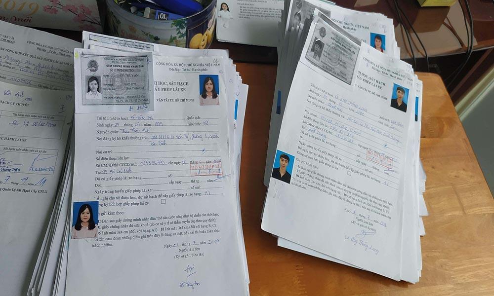 Hồ sơ thi bằng hạng C
