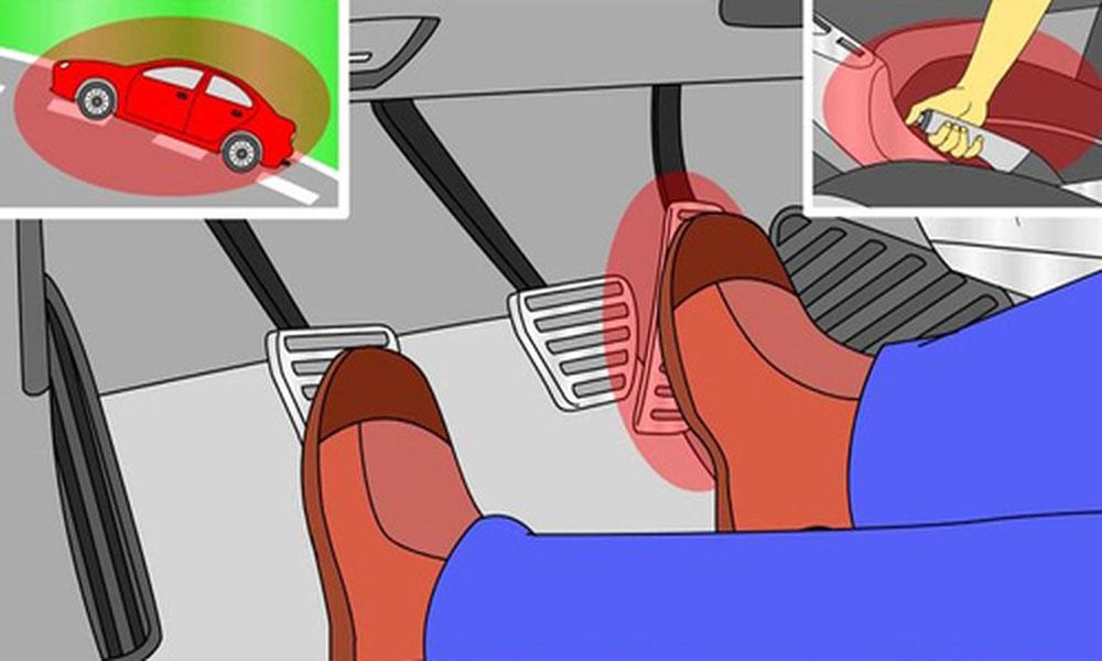 Kinh nghiệm đề pa khi lái xe