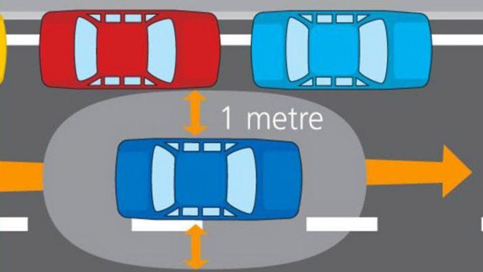 Lưu ý về cách căn đường khi lái xe