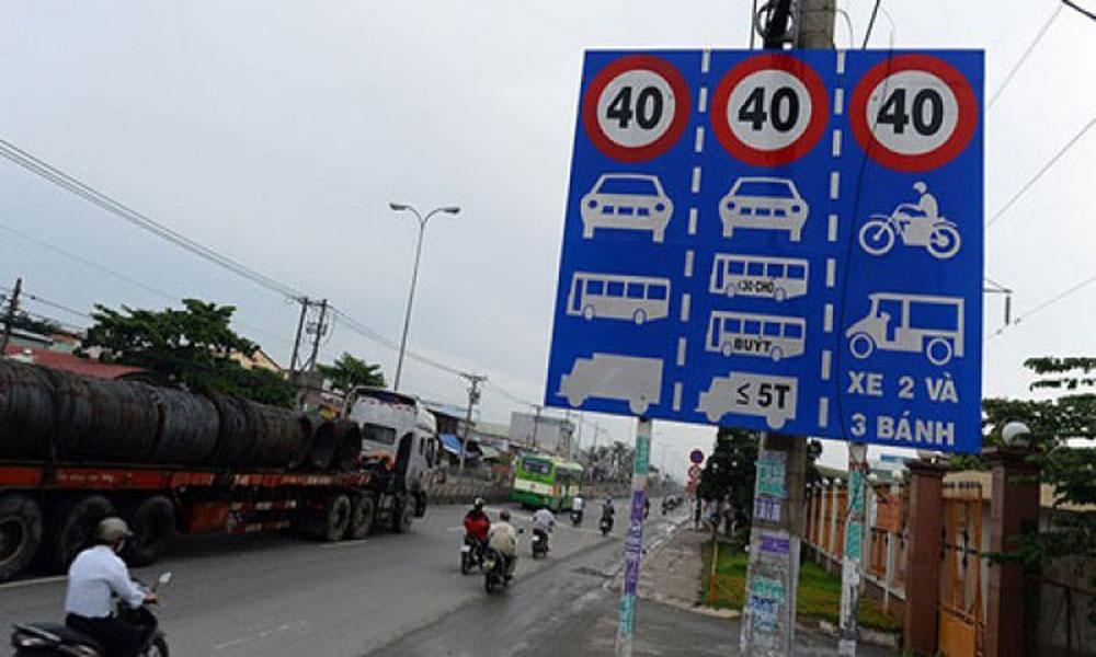 Tốc độ xe trong khu dân cư