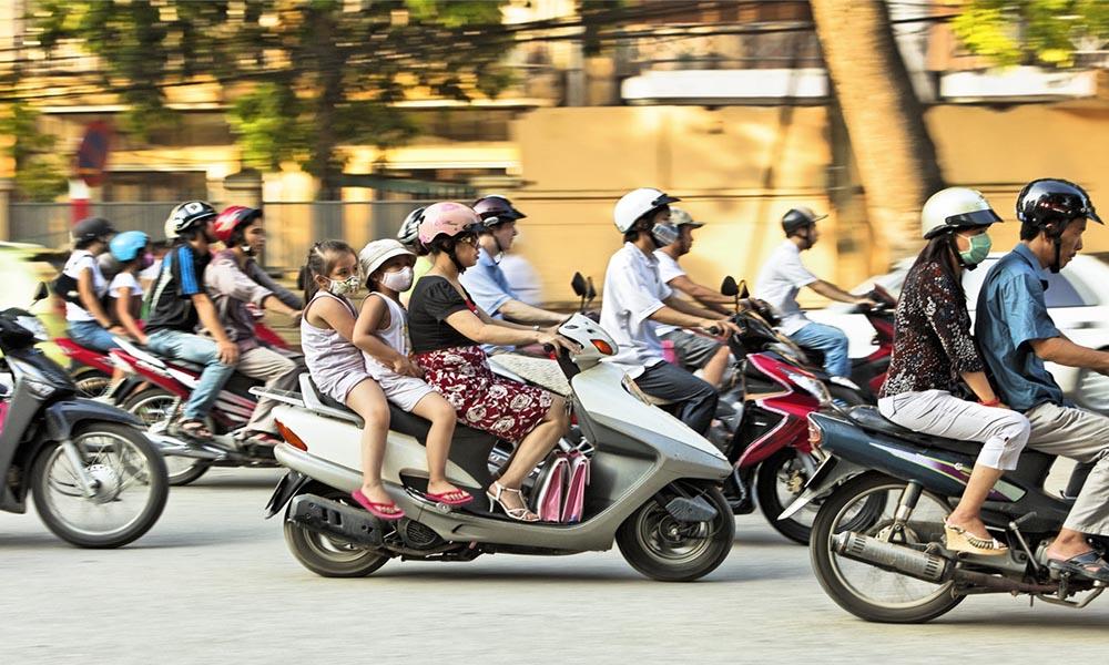 Tốc độ xe ngoài khu dân cư
