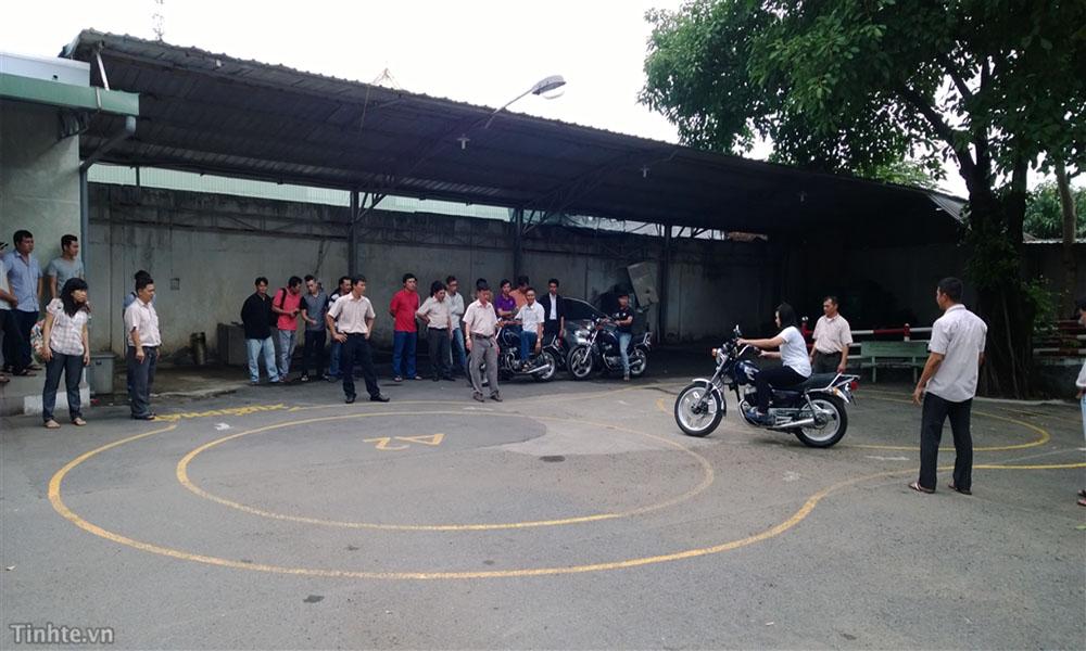 Trường đào tạo lái xe máy A1