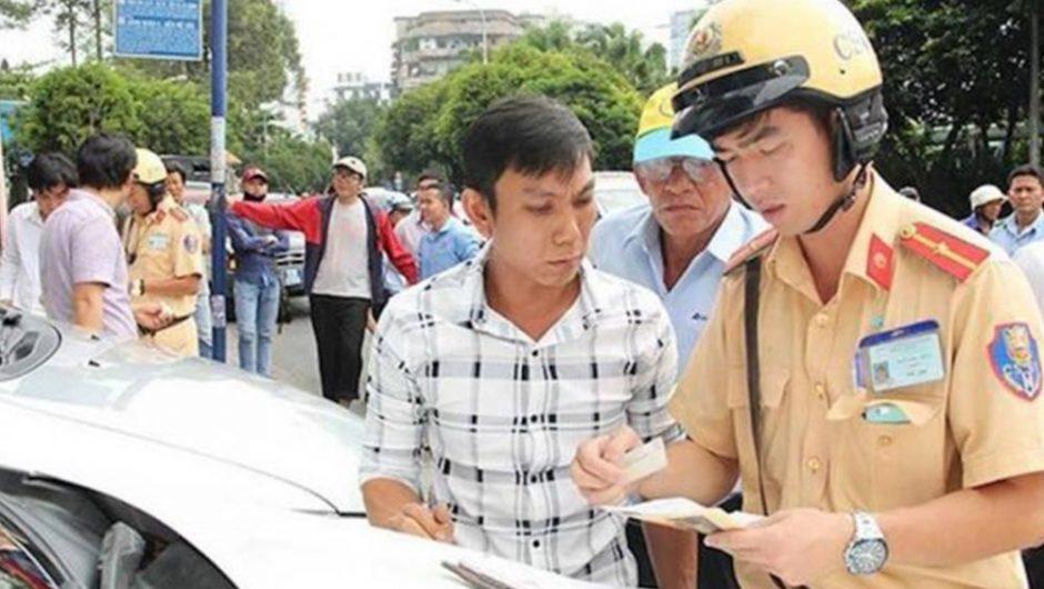 Xử phạt các hành vi vi phạm quy định về điều kiện của người điều khiển xe cơ giới