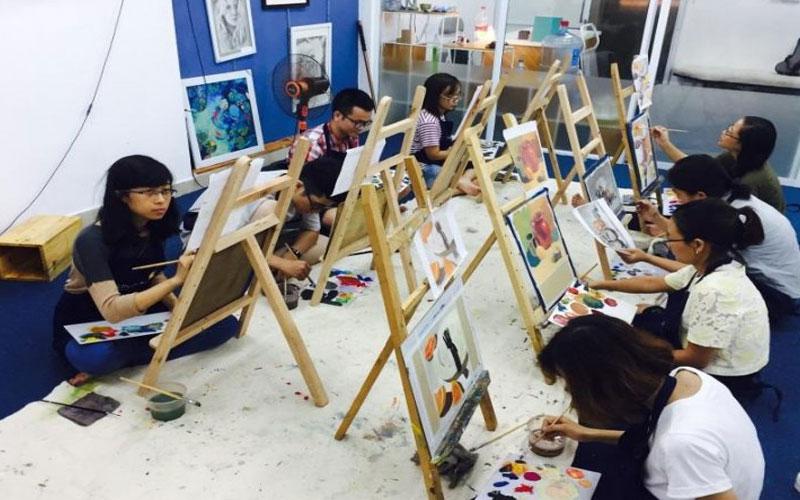 Trở thành họa sĩ xuất sắc cùng khóa học vẽ chuyên nghiệp
