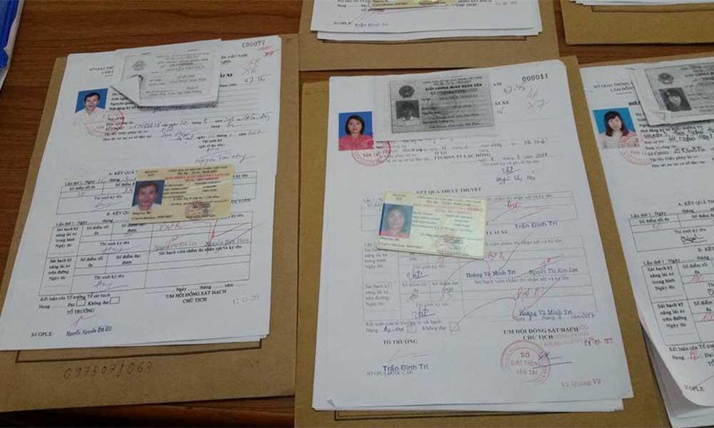 Hồ sơ thi bằng lái xe B2 cần những gì